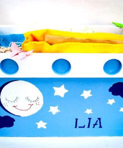 Imagen de Canastilla Personalizada Placeat, con base de madera