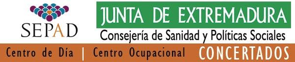 Logotipo Centro y Servicios Concertados por la Junta de Extremadura