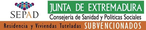 Logotipo Centro y Servicios Subvencionados por la Junta de Extremadura