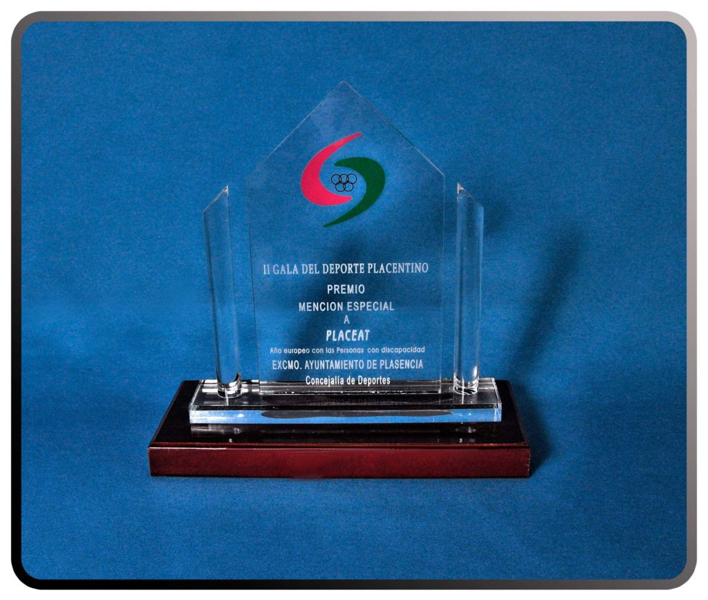 Premio al Deporte del Ayto de Plasencia