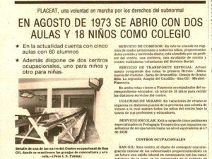 38 Años de la Inauguración Oficial de los Centros de PLACEAT