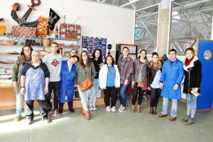 """Taller de Empleo """"El Magnolio"""" (Sierra de Gata) visita PLACEAT"""