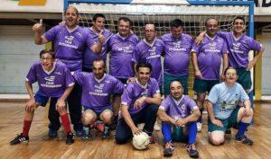 Encuentro de Fútbol Sala homenaje a PLACEAT en Plasencia