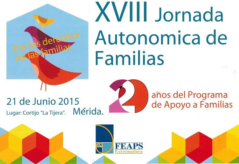 PLACEAT en las Jornadas de Familias de FEAPS Extremadura