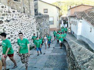III Etapa Marcha Andando de PLACEAT por el Ambroz 2015