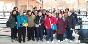 Excursión a Béjar del Taller de Punto de la Asociación PLACEAT de Plasencia
