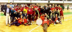 Selección Española de Fútbol Sala en Plasencia