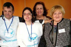Voluntarios con el Banco de Alimentos
