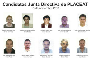 Candidatos Junta Directiva PLACEAT-PLASER 2015