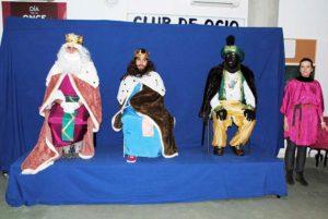 Visita de los Reyes Magos a la Asociación PLACEAT de Plasencia