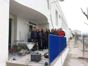 Los Patronos de la Fundación PLACEAT visitan las obras de San Gil