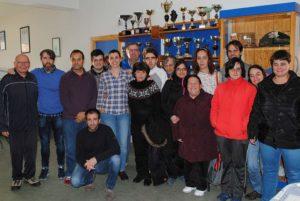 Visita del Líder de Podemos Extremadura y la Alcaldesa de Carcaboso