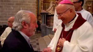 Despedida de nuestro Obispo, D. Amadeo Rodríguez