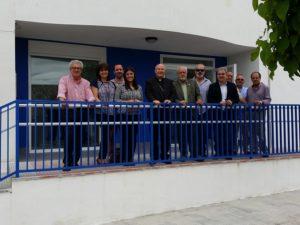 Visita de D. Amadeo a la Residencia de San Gil