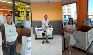 Voluntarios de PLACEAT para el Banco de Alimentos de Plasencia