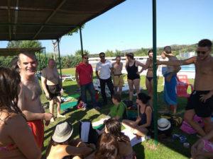 Comienza el Campo de Trabajo de PLACEAT en San Gil