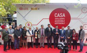 PLACEAT en la inauguración de la Casa Inteligente de la ONCE en Badajoz