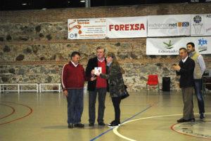 Reconocimiento de ADEPLA Basket a Modesto