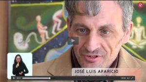 Imagen grabacion residencia de San Gil para el Programa Escuchame TV de Canal Extremadura TV