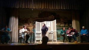 Se representa una obra de Teatro de PLACEAT en las Hermanitas de los Pobres