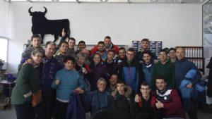 Visita de alumnos del IES Monfragüe