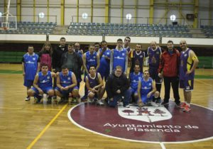 Partido de Baloncesto contra Malpartida de Cáceres el 7 de febrero de 2017