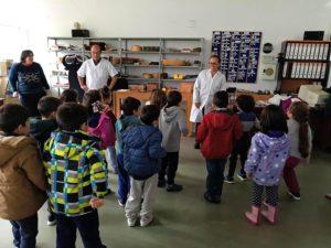 Visita del Curso de 3º de Infantil del CEIP San Miguel de Plasencia a PLACEAT