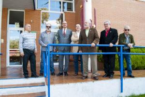Visita de D. Aurelio Blanco Peñalver, Fiscal Superior de Extremadura y D. José Manuel Rubio De la Iglesia, Fiscal Jefe de Plasencia a la Asociación PLACEAT