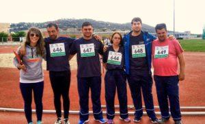 PLACEAT en el Campeonato de Atletismo 1ª División en Cáceres