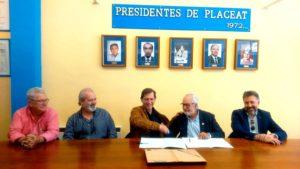 """PLACEAT y Asociación Española de la Automoción firman un Convenio para poner en marcha en Plasencia el """"Centro de Documentación de la Automoción Española"""""""
