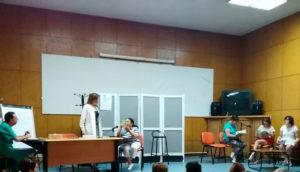 Actuación del Grupo de Teatro PLACEAT en el Centro Sociosanitario de Plasencia