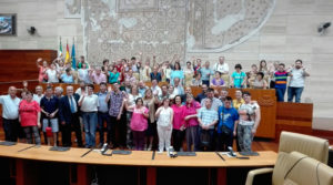 El Tapiz de Placeat en la Asamblea de Extremadura