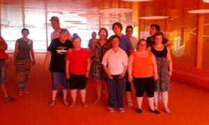 Visita de usuarios de PLACEAT al Palacio de Congresos y Exposiciones de Plasencia