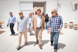 El Presidente de la Junta de Extremadura, Guillermo Fernández Vara, visita las instalaciones de PLACEAT en San Gil (Residencia y Albergue)
