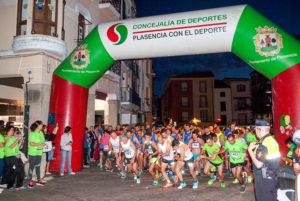I Carrera Nocturna Intramuros Ciudad de Plasencia a favor de PLACEAT
