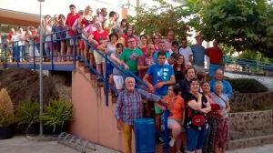 Despedida Voluntarias Europeas PLACEAT 2017