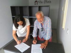 Firma de PLASER para la Gestión del Albergue de San Gil