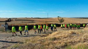 I Etapa de la Marcha andando de la Asociación PLACEAT por las Tierras de Alcántara
