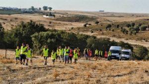 V Etapa de la Marcha andando de la Asociación PLACEAT por las Tierras de Alcántara