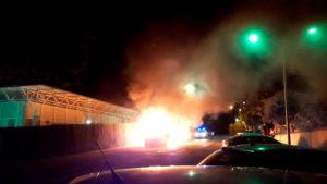 Incendio en las instalaciones de PLACEAT