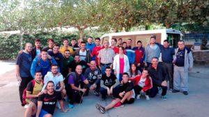 Visita de un Grupo de Alumnos del IES Monfragüe de Plasencia