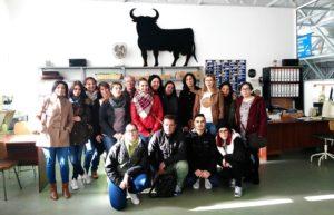 Visita de Curso de Atención Sociosanitaria de la Escuela de Sierra de Gata a PLACEAT