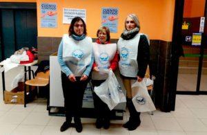 Recogida de los autogestores de PLACEAT para el Banco de Alimentos de Plasencia