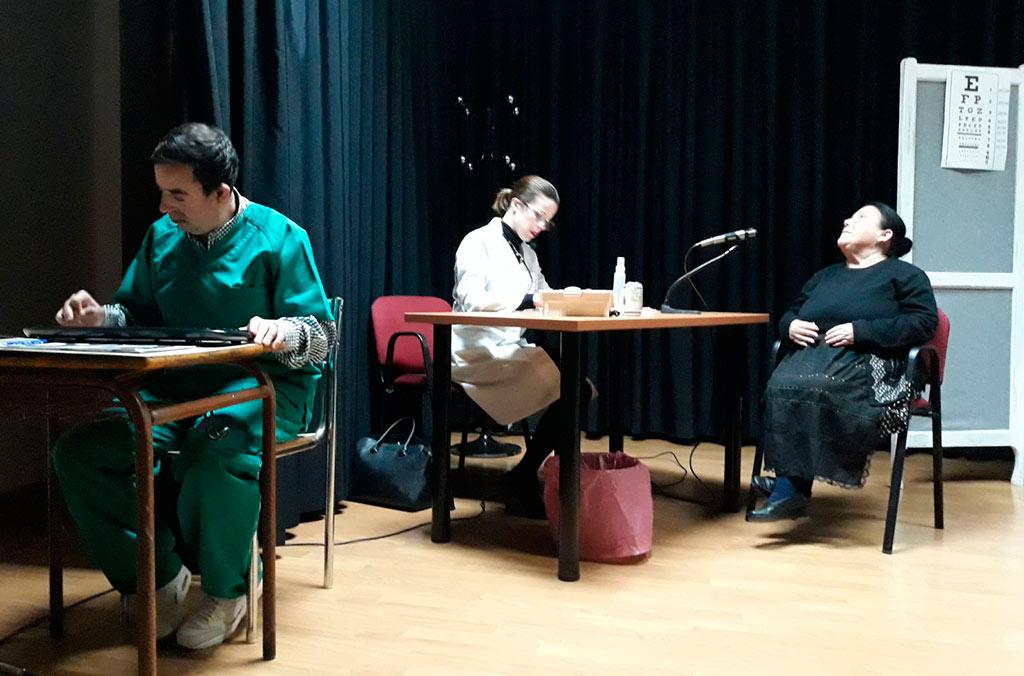 Actuación del Grupo de Teatro PLACEAT en Galisteo - 12-01-2018