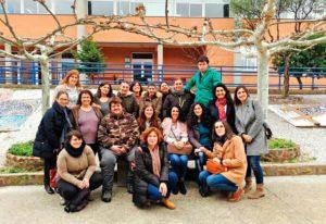 Visita a PLACEAT de las alumnas de la Escuela Profesional Valle Ambroz X