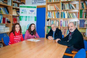 Visita a PLACEAT de Representantes de la Lanzadera de Empleo de Plasencia