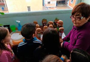 Visita de tercero de infantil del CEIP SAN MIGUEL de Plasencia