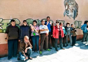 Usuarios de PLACEAT en la Fiesta del Día del Centro del IES Monfragüe
