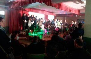 Jornada de Musicoterapia del Centro de Día de PLACEAT, en el IES Monfragüe