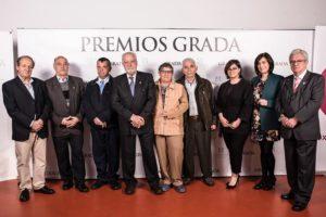 Imagen de los miembros de PLACEAT que asistieron a los Premios Grada 2018
